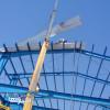 اجرانصب سقف شیروانی پوشش نصب سوله وخرپا