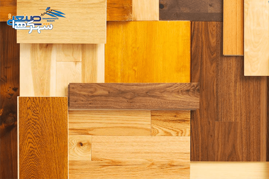 انواع چوب در بازار ايران